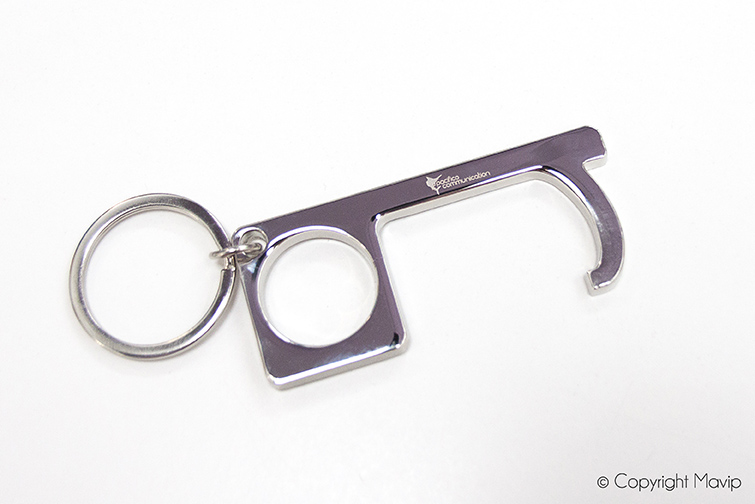 Portes-clés anti contact réalisés par Mavip