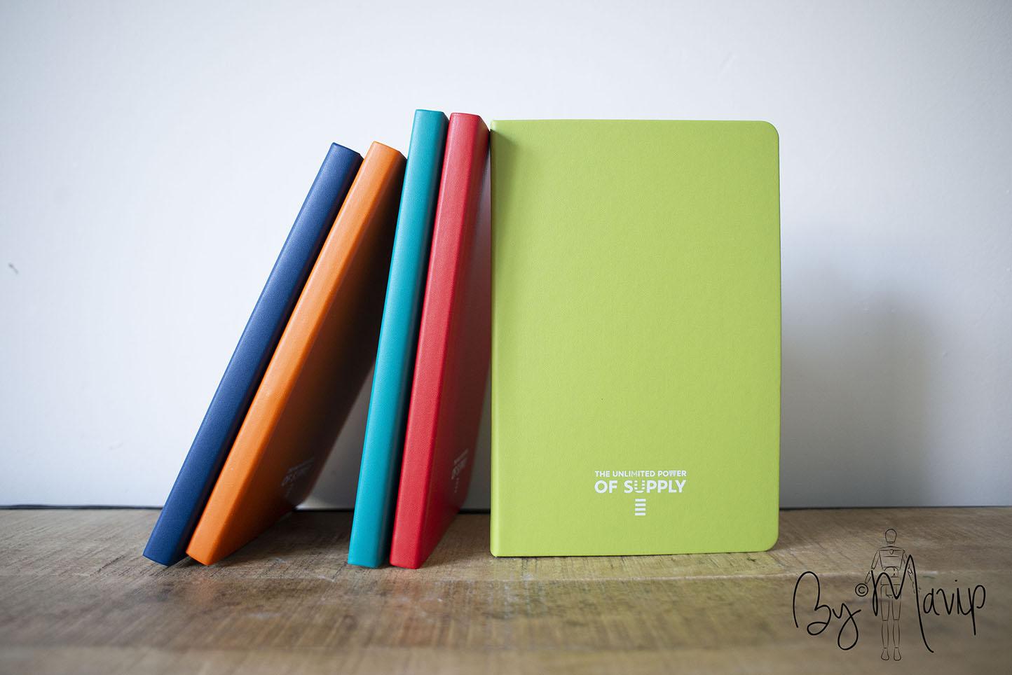 Carnets personnalisés pour Sephora par Mavip