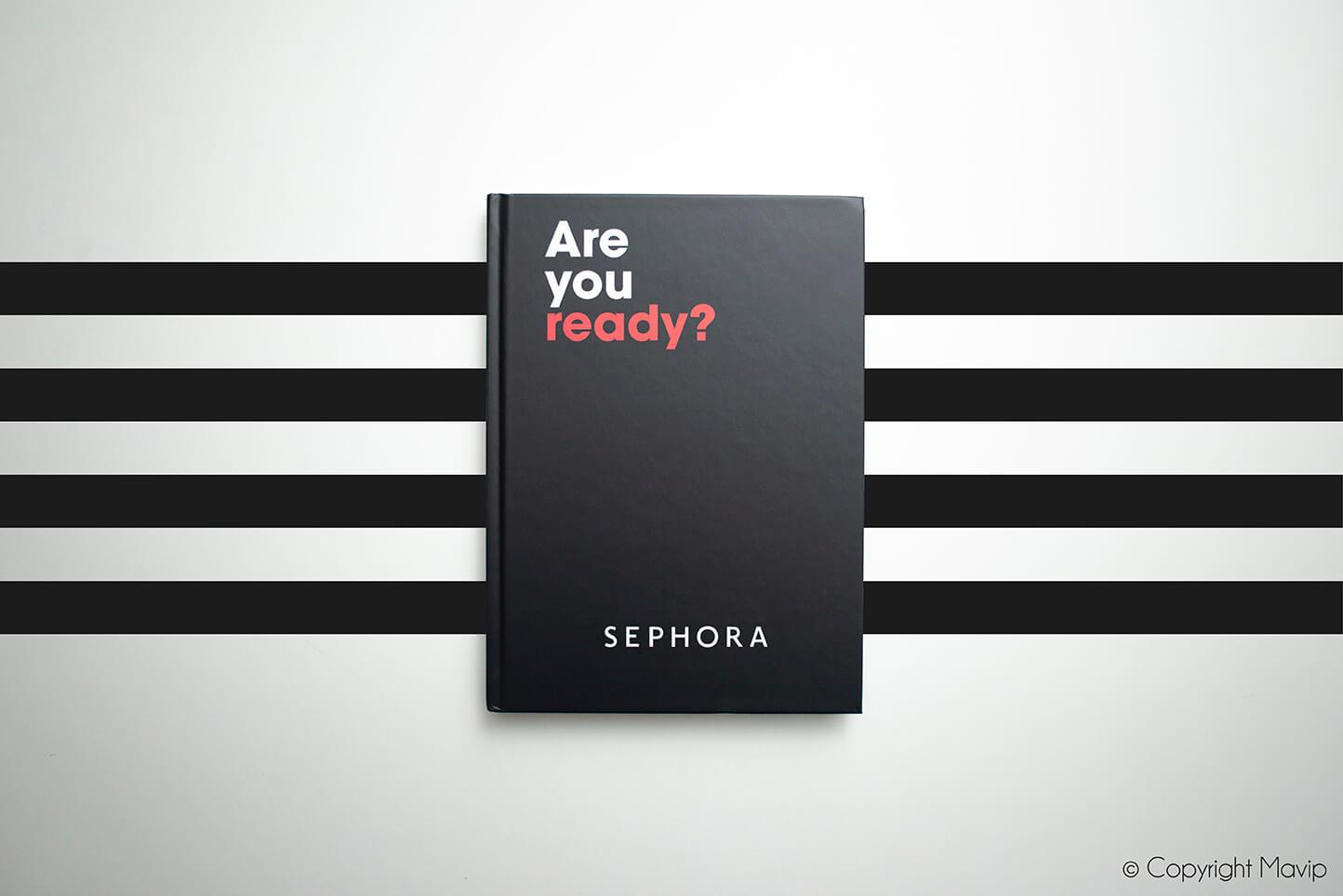 Carnets réalisés pour Sephora par Mavip