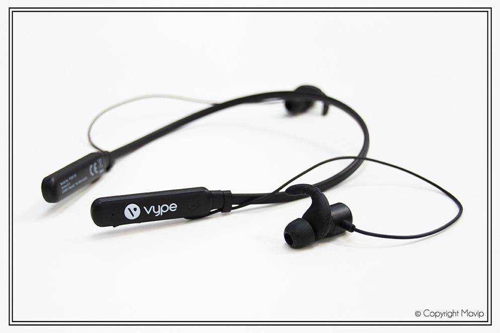 Ecouteurs réalisés pour Vype par Mavip