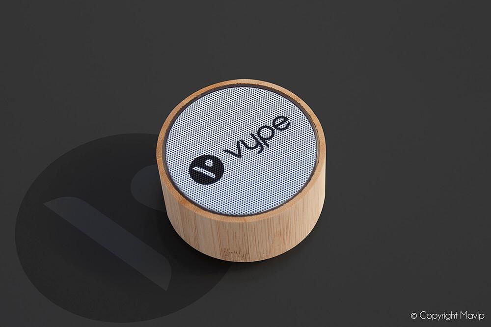 Enceintes personnalisées réalisées pour Vype par Mavip