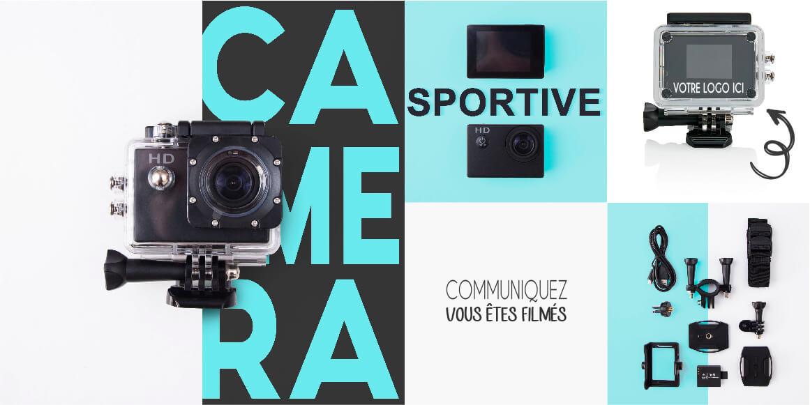 Camera sportive style Gopro personnalisable avec votre logo
