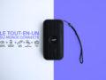 Enceinte bluetooth multifonctions lampe - kit mains libre - radio - powerbank