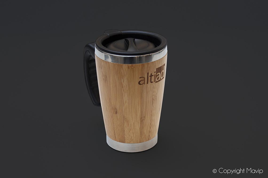 Mug bouteille isotherme personnalisable avec logo d'entreprise by Mavip