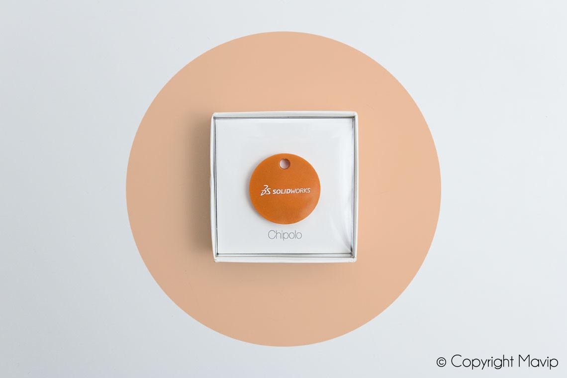 Localisateurs d'objets personnalisables avec logo réalisés pour Solidworks par Mavip