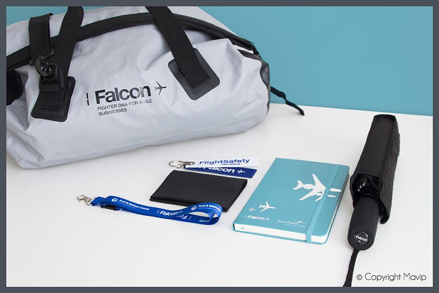 Kit d'objets médias réalisés pour Dassault par Mavip