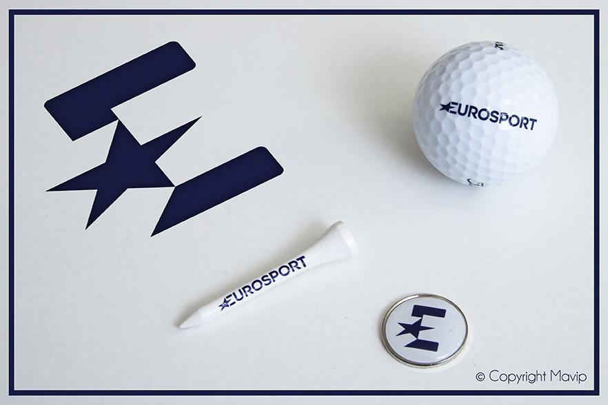 Kit d'objets médias réalisés pour Eurosport par Mavip