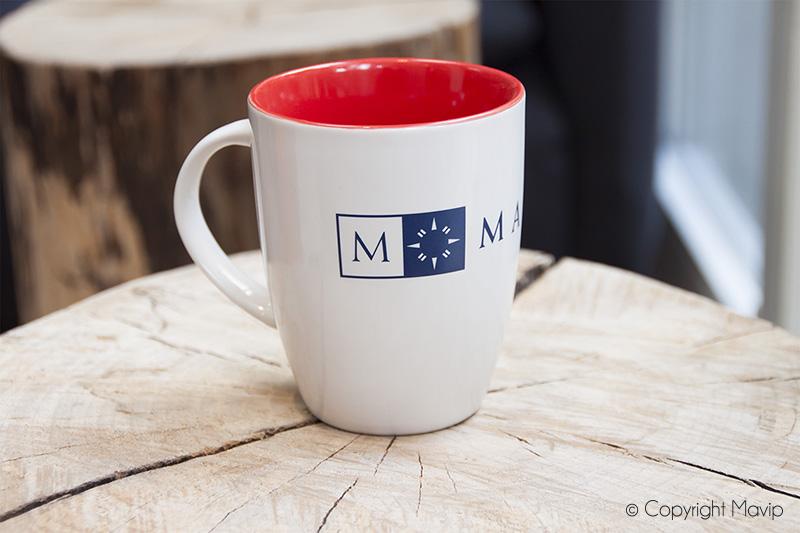 Mug réalisé pour Mazars par Mavip
