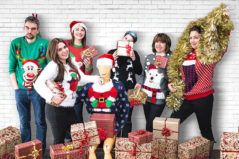 La team Mavip de Noël