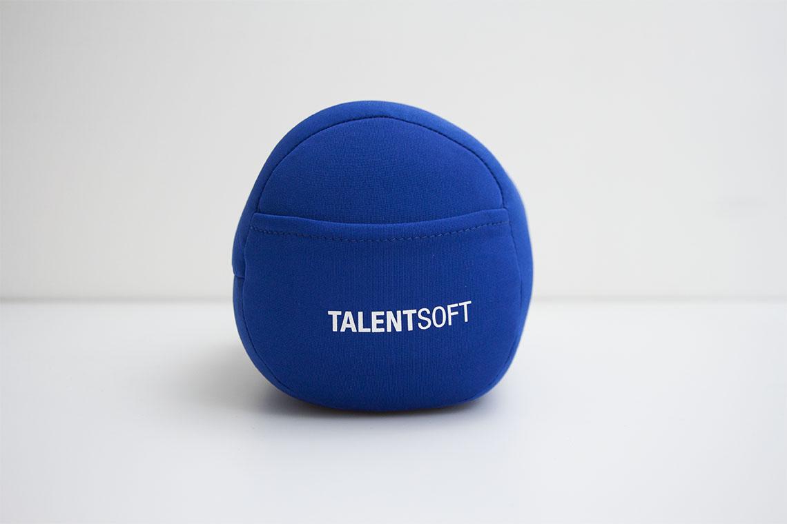 Plumpidoo personnalisé avec logo réalisé pour Talent Soft par Mavip