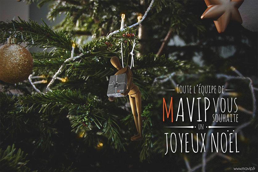 Goodie Boy partie intégrante du sapin de Noël de Mavip