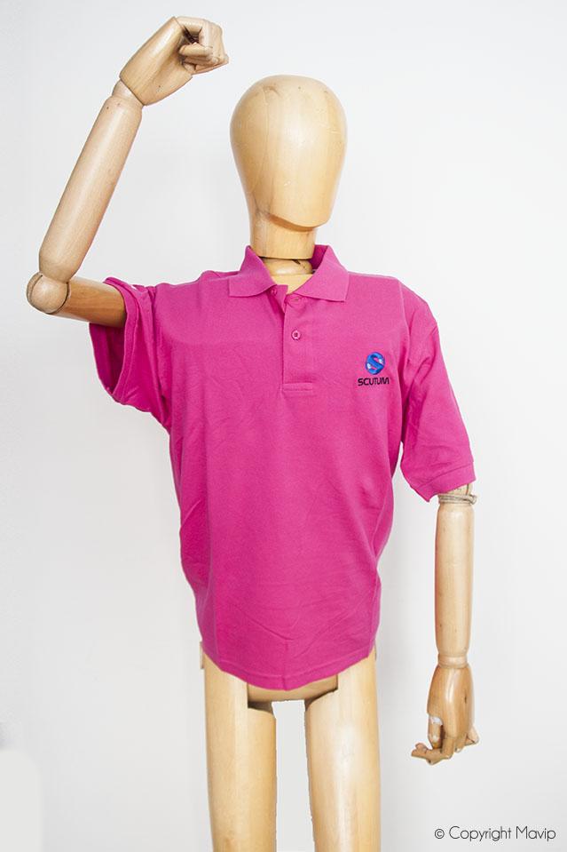 Polos personnalisables avec logo brodé par Mavip textile publicitaire