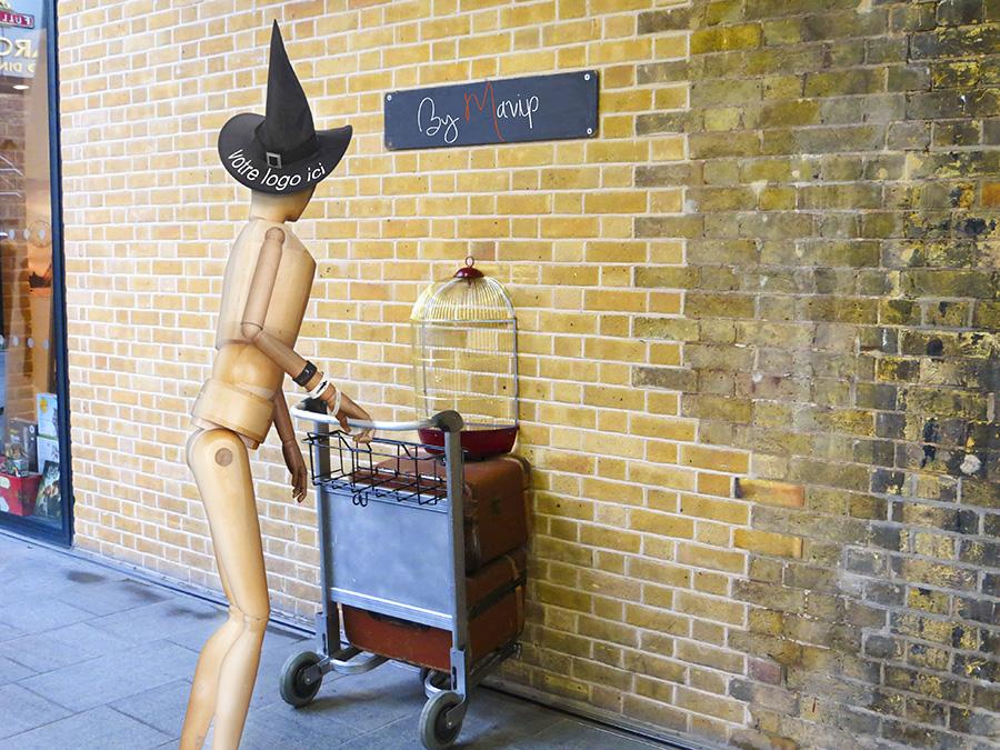 Objet média personnalisé Harry Potter