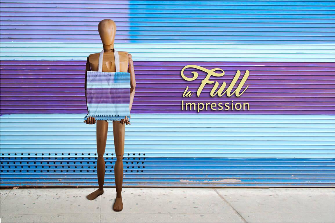 Communiquez avec la full impression sur vos objets médias