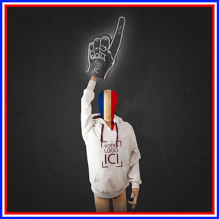 Objet média de supporters personnalisables avec votre logo by Mavip