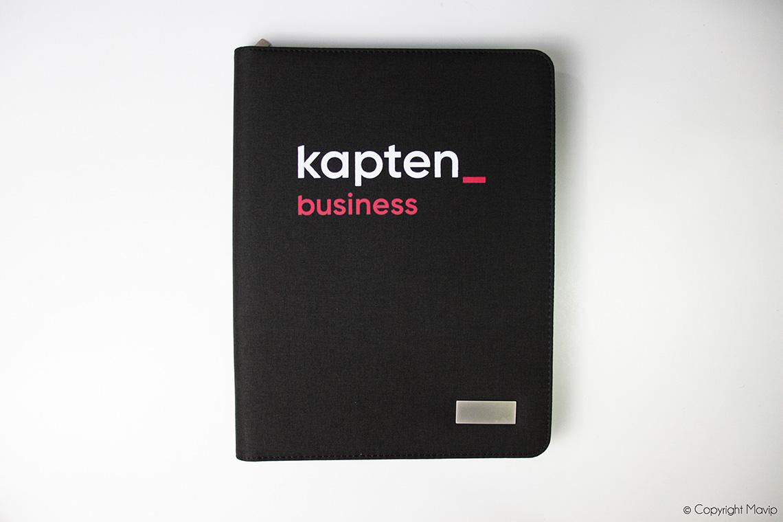 objet média conférenciers réalisés pour Kapten par Mavip