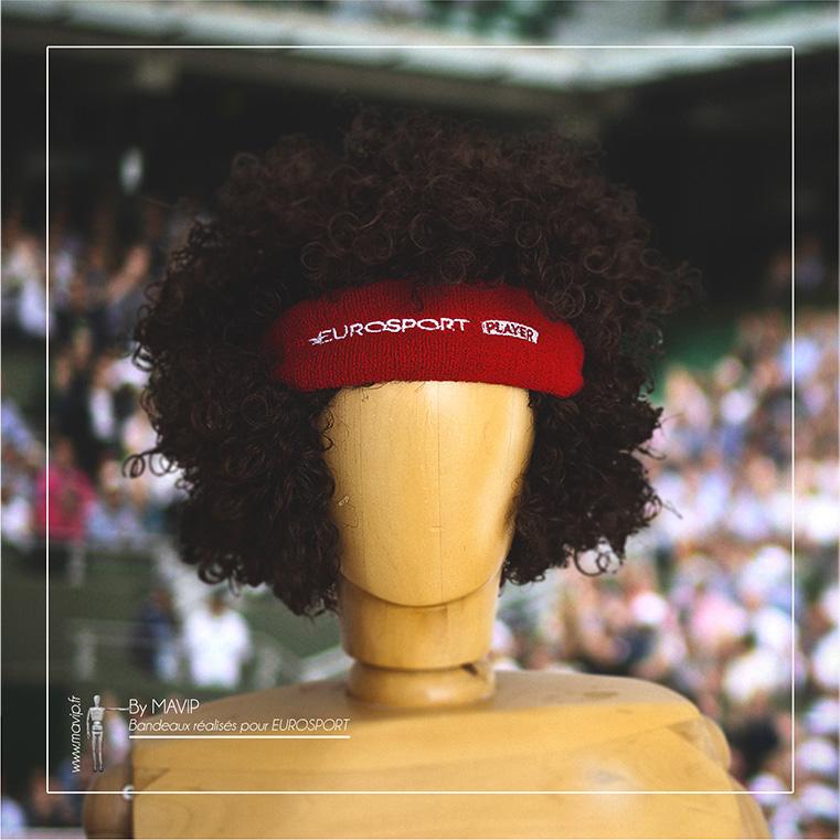 bandanas perruques personnalisable avec logo d'entreprise