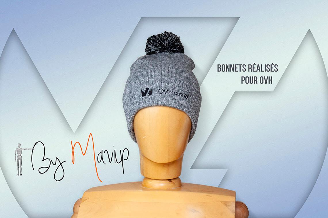 Bonnets réalisés pour OVH par Mavip