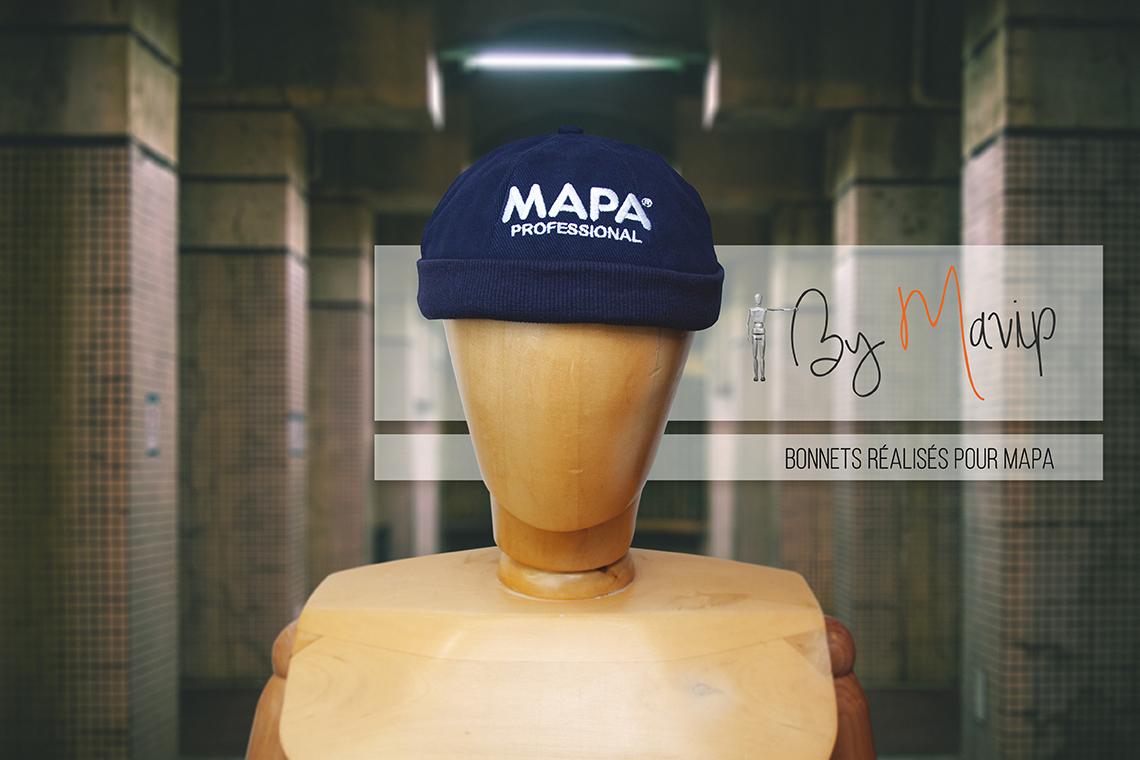 Bonnet personnalisable avec logo d'entreprise by Mavip