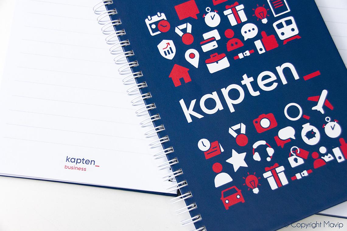 Objet media carnet personnalisable avec logo d'entreprise by mavip