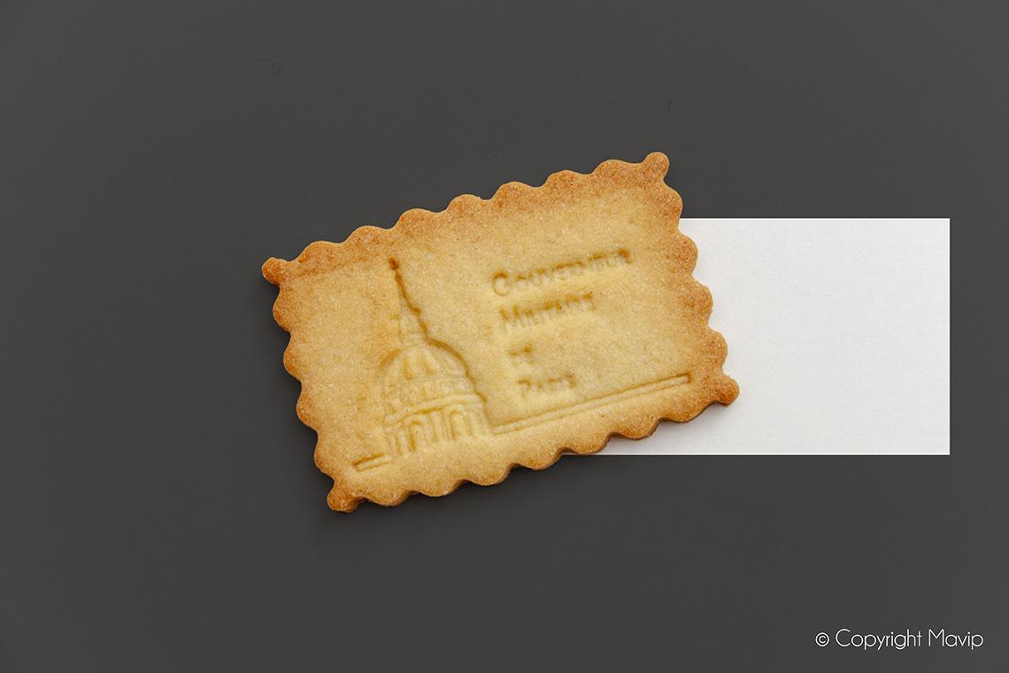 Gâteaux personnalisables avec logo d'entreprise réalisés par Mavip