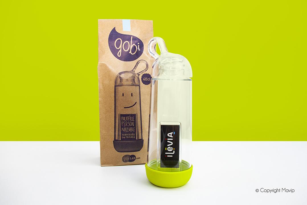 Bouteilles Gobi personnalisables avec logo d'entreprise