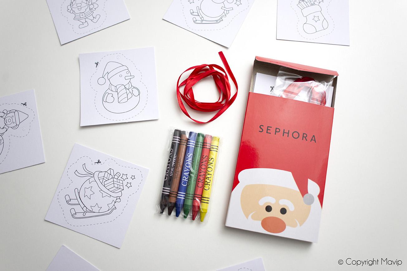 Kit de coloriage réalisés pour Sephora par Mavip