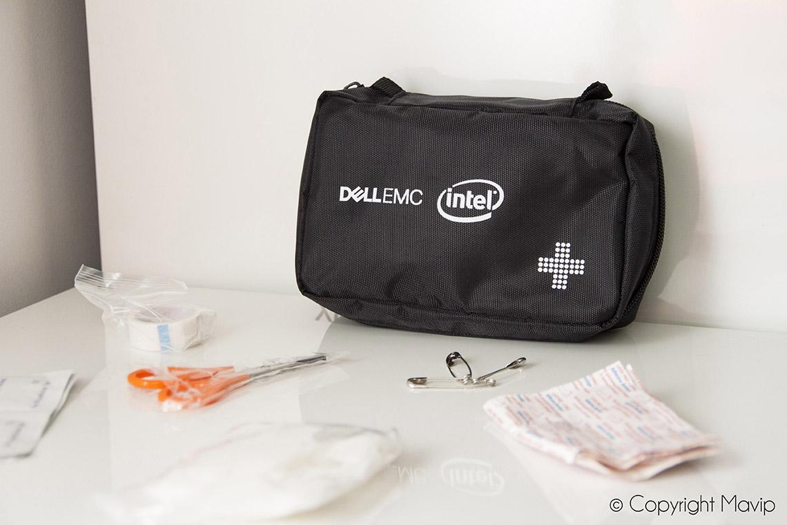 Kits premiers secours réalisés pour Dell par Mavip