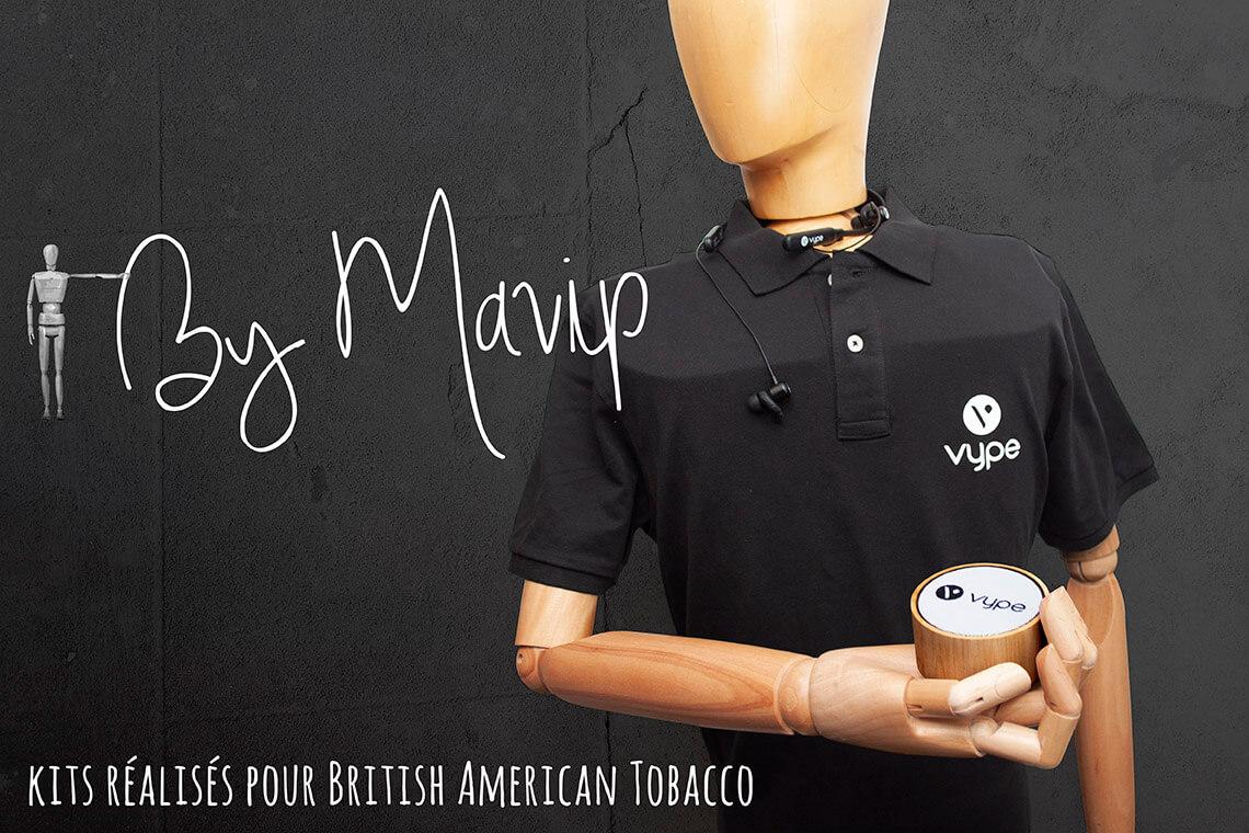 Kits réalisés pour Vype par Mavip