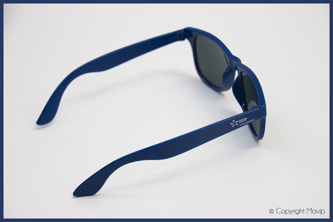 lunettes de soleil personnalisable avec logo d'entreprise by mavip