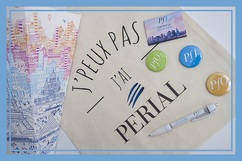 Kits d'objets publicitaires personnalisés avec logo d'entreprise par Mavip