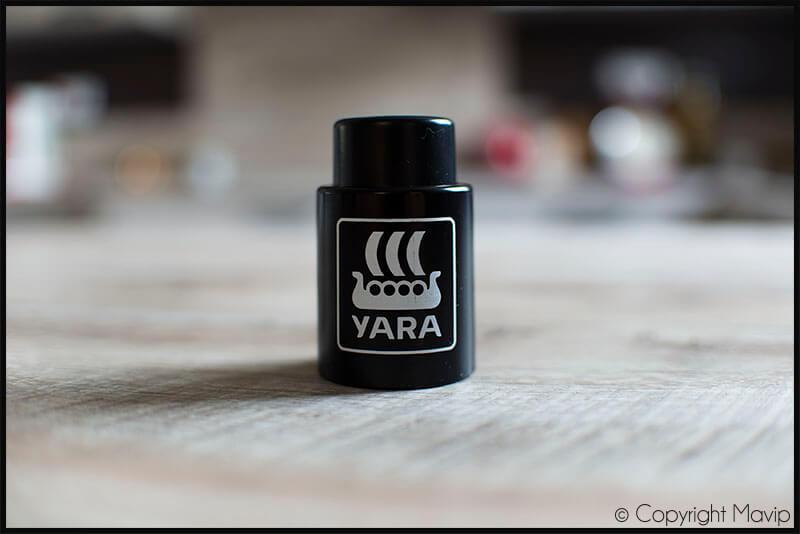 Bouchons de bouteille réalisés pour Yara par Mavip
