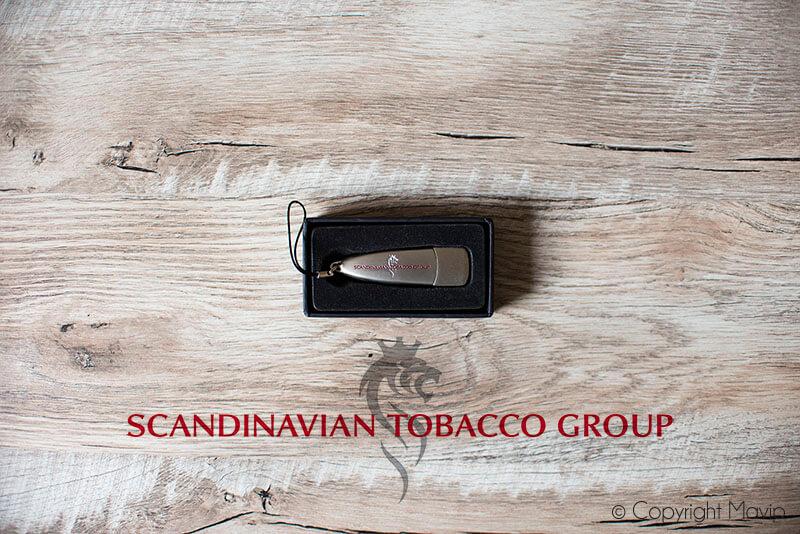 Clés USB réalisées pour Scandinavian Tobacco