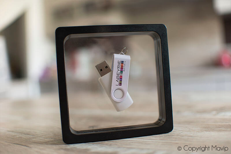 Clés USB réalisées pour Labeyrie Fine Foods par Mavip