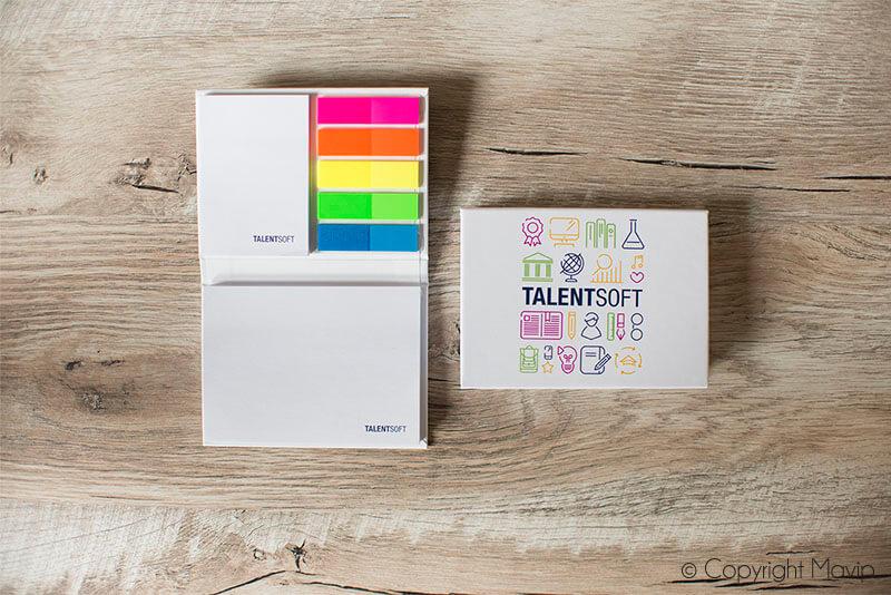 Post-it réalisés pour Talent Soft par Mavip