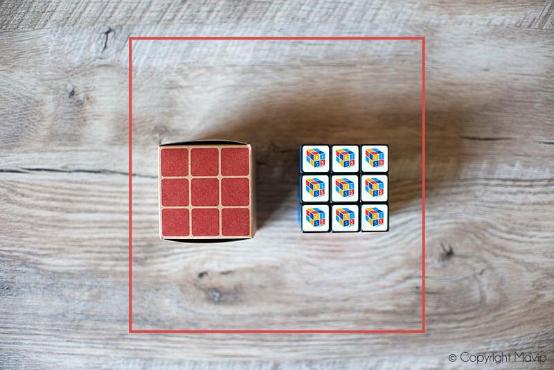 Rubik's cubes personnalisés avec logo d'entreprise réalisés pour Total par Mavip