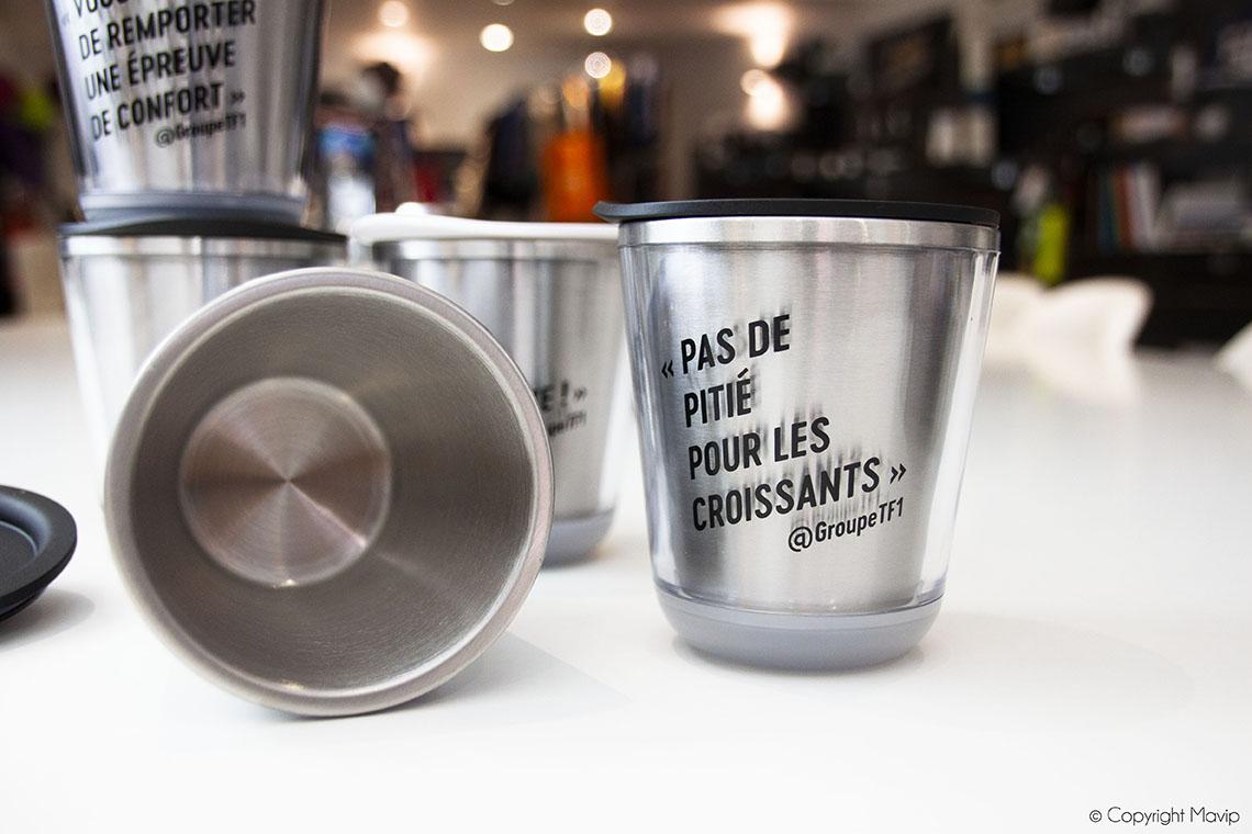 Mugs personnalisables avec logo d'entreprise by Mavip