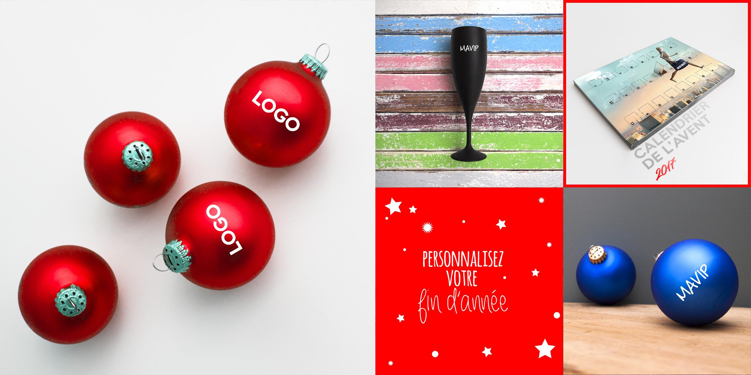 les goodies de fin d'année personnalisables avec logo noêl