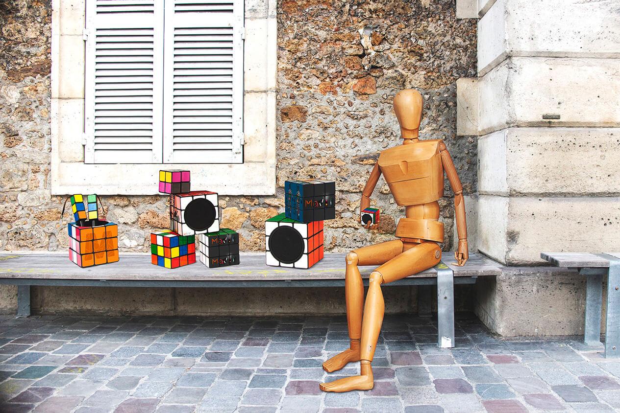 La famille d'objets médias Rubik's Cube by Mavip