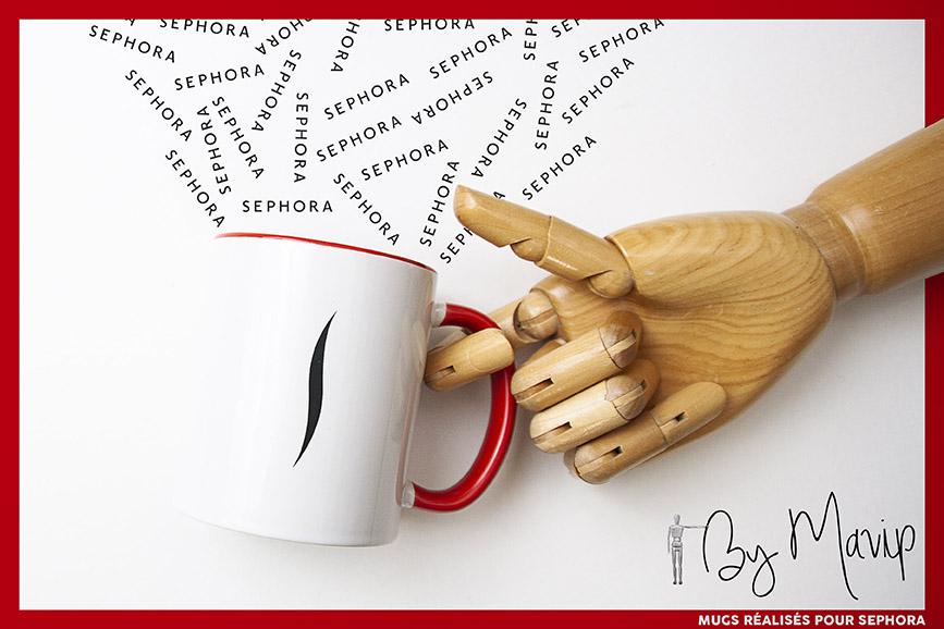 Mug personnalisé avec logo d'entreprise by Mavip