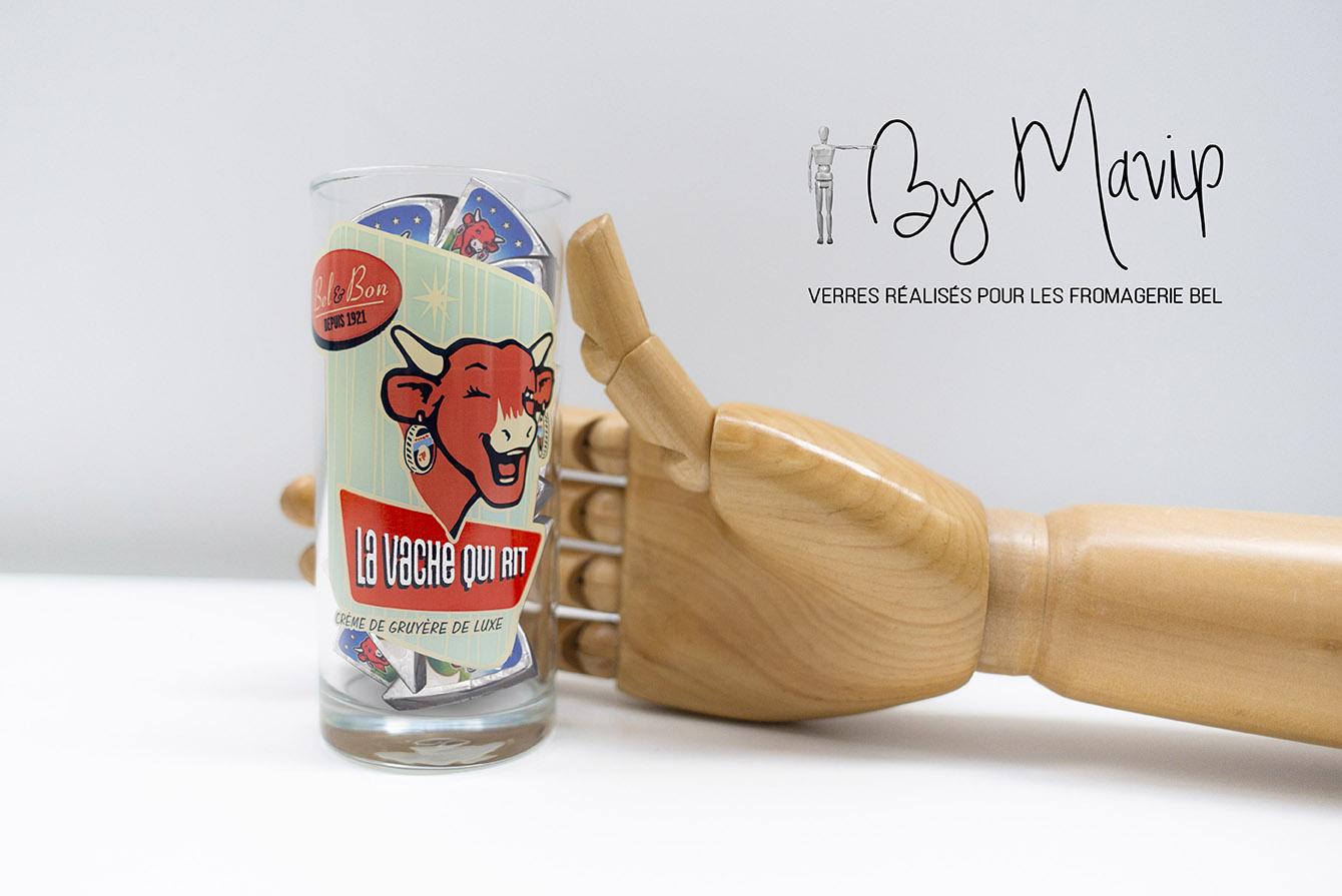 verres personnalisés avec logo d'entreprise par Mavip objet média