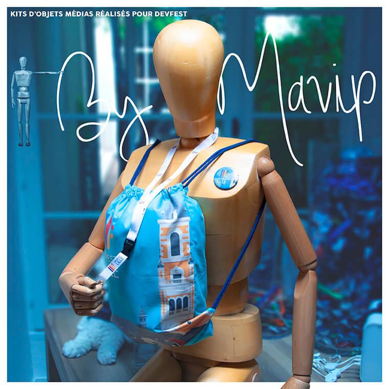 Kit d'objets médias personnalisables by Mavip
