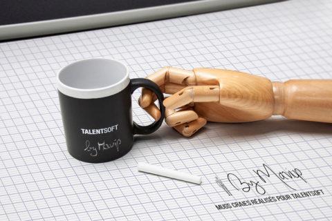 Mugs craies personnalisables avec logo d'entreprise by Mavip