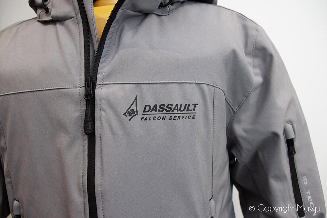 Parkas réalisées pour Dassault aviation par Mavip