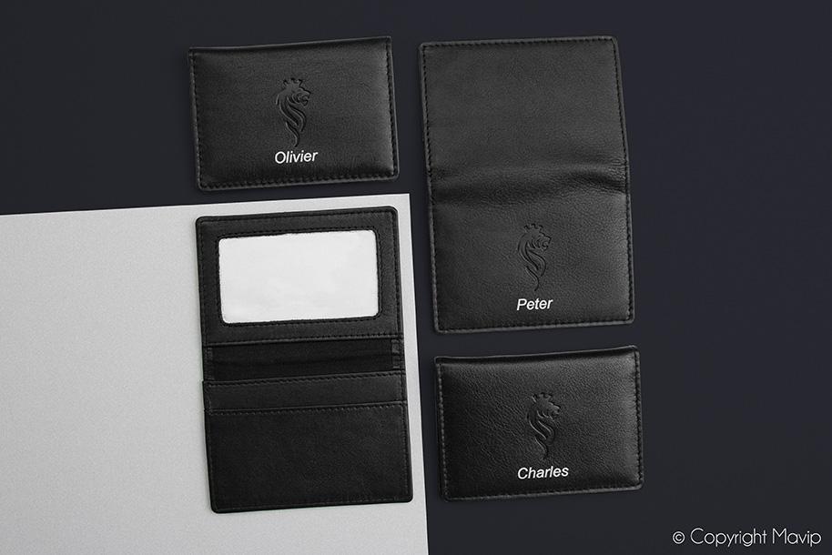 Porte-cartes réalisés par Mavip