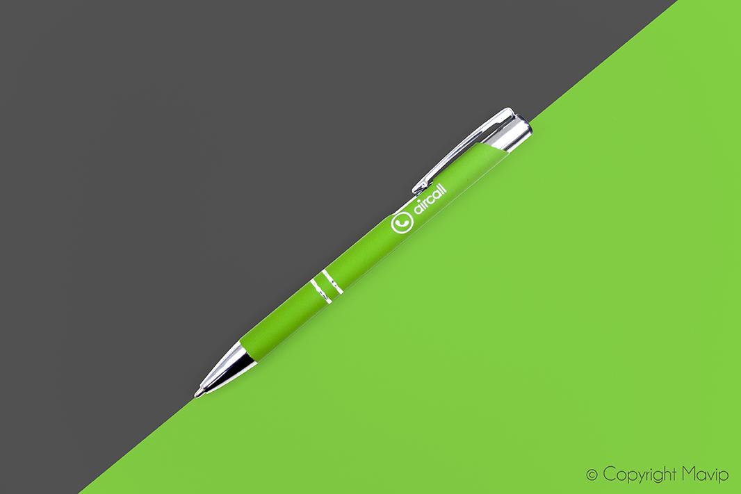 Stylos stylets personnalisés avec logo d'entreprise objet média by Mavip