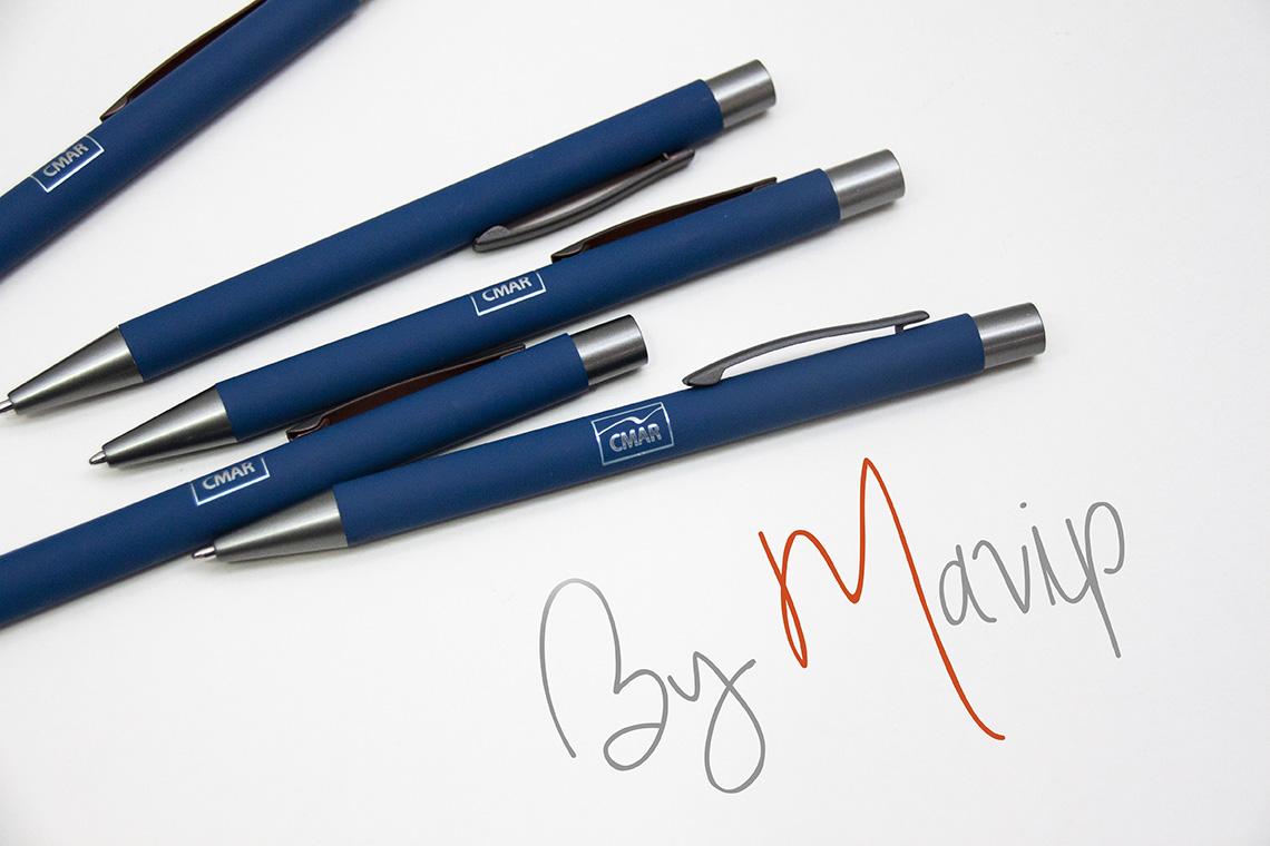 Stylos stylet personnalisés avec logo d'entreprise objet média by Mavip