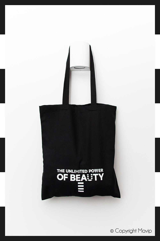 Tote bags réalisés pour Sephora par Mavip