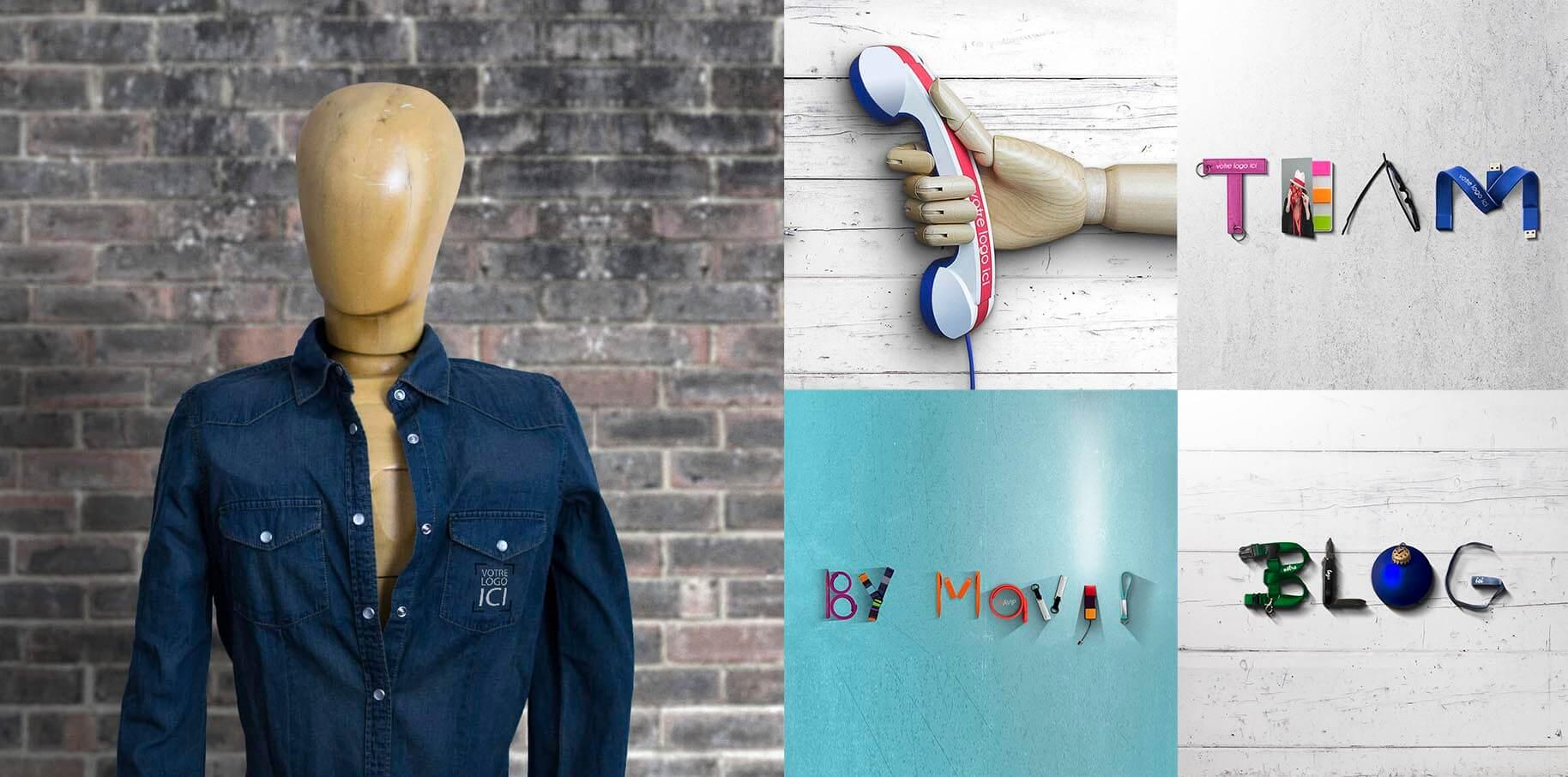 Visuels header des pages du nouveau site internet de Mavip