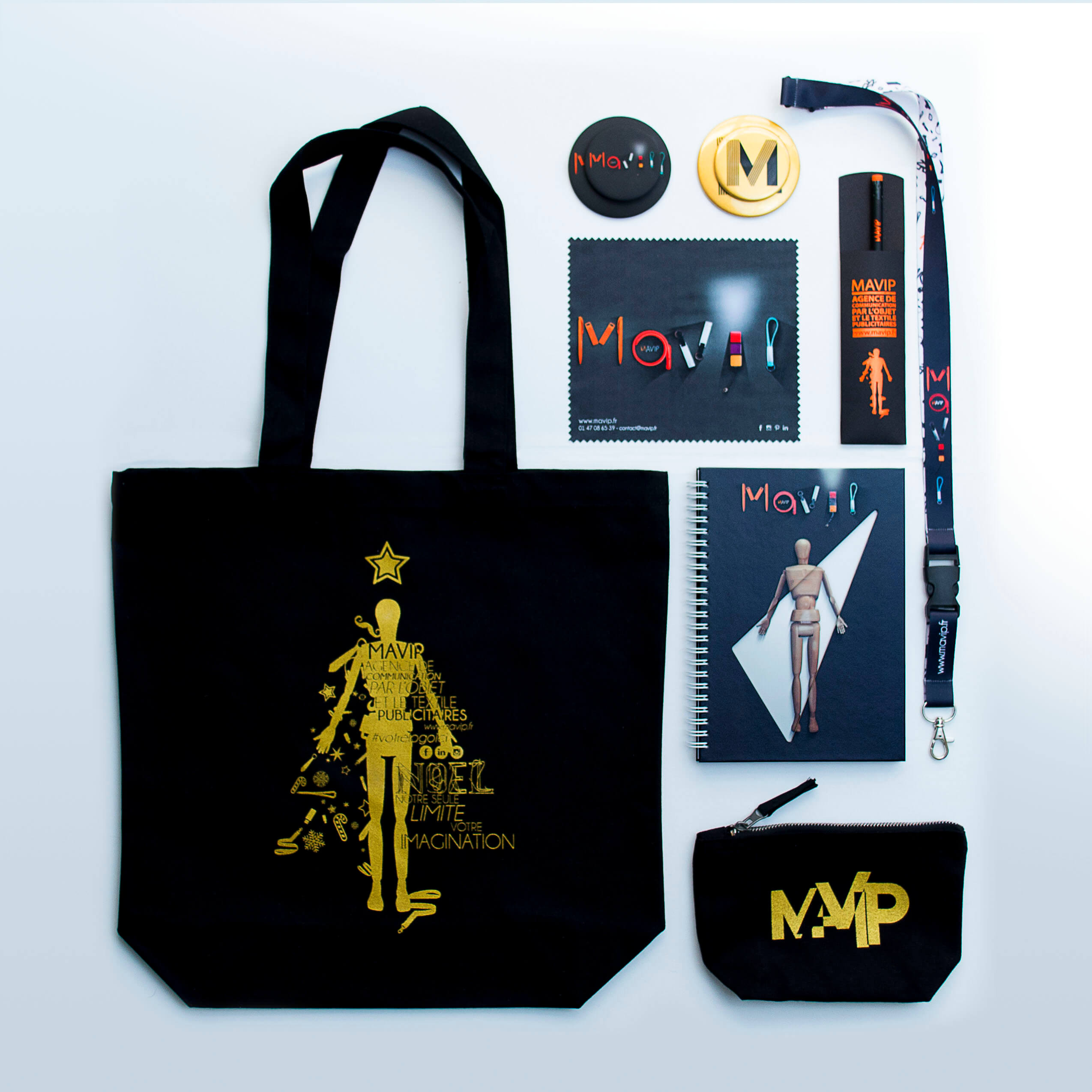 Collection de goodies by Mavip